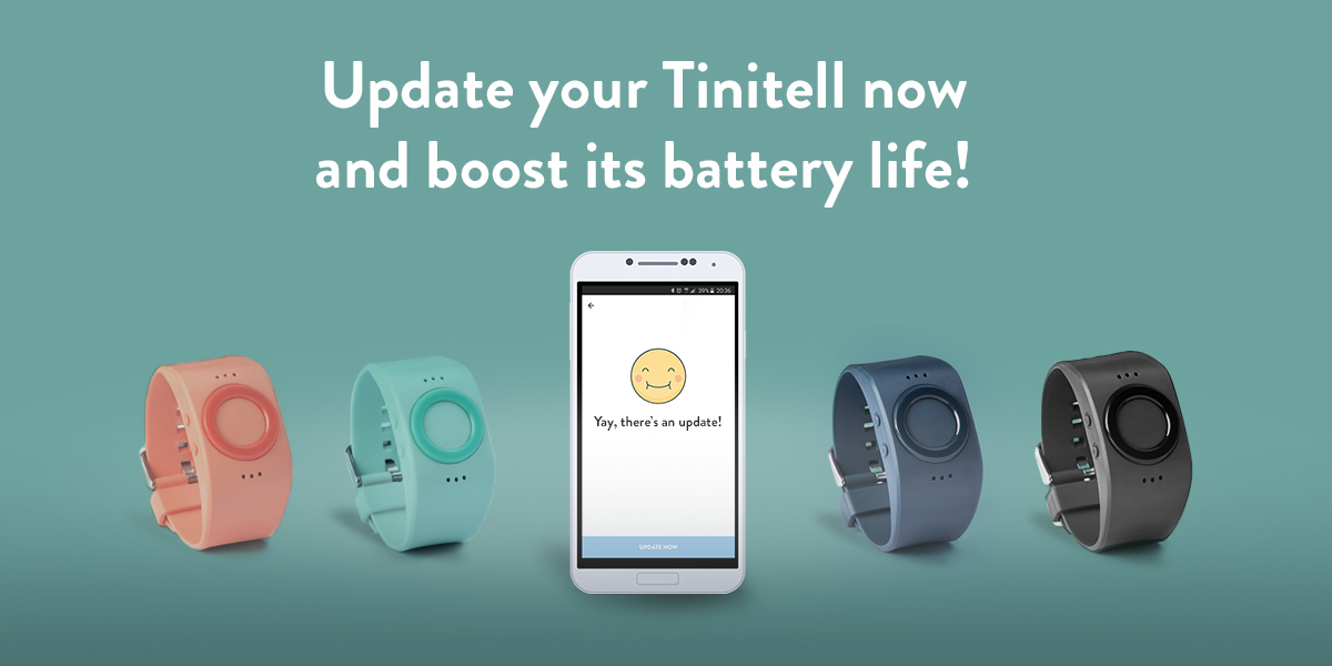 Tinitell Battery Life Update