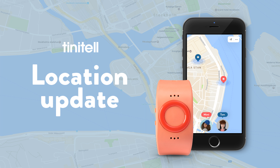 Tinitell Update Location
